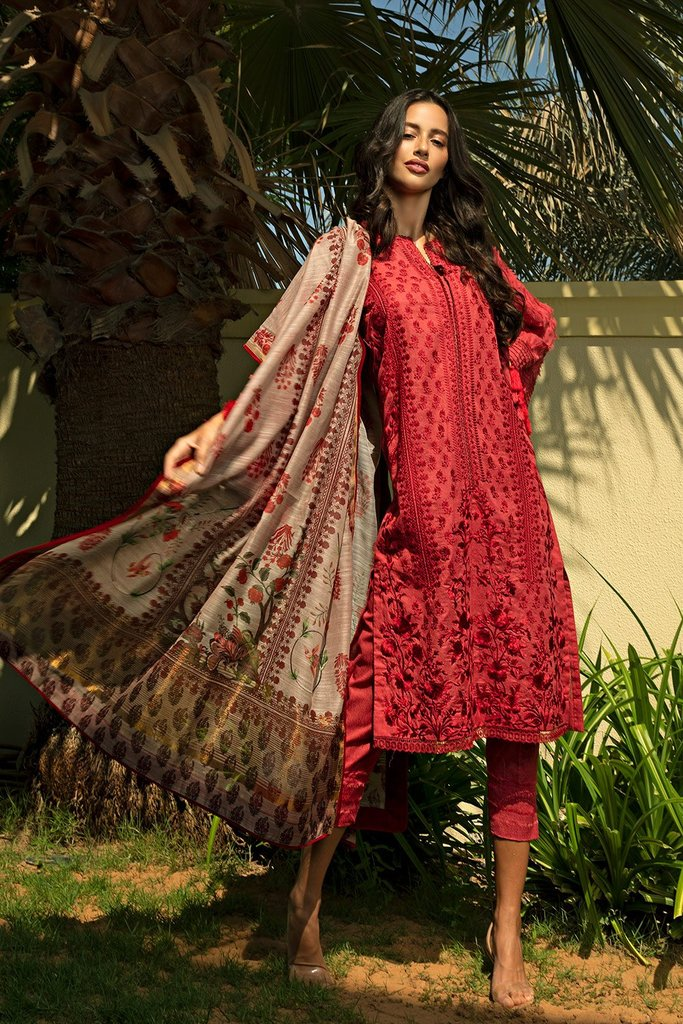 Buy now Sobia Nazir | AUTUMN/WINTER '20 | AW20-1B New Pakistani Designer Clothing 2020 Collection Online UK at Lebaasonline