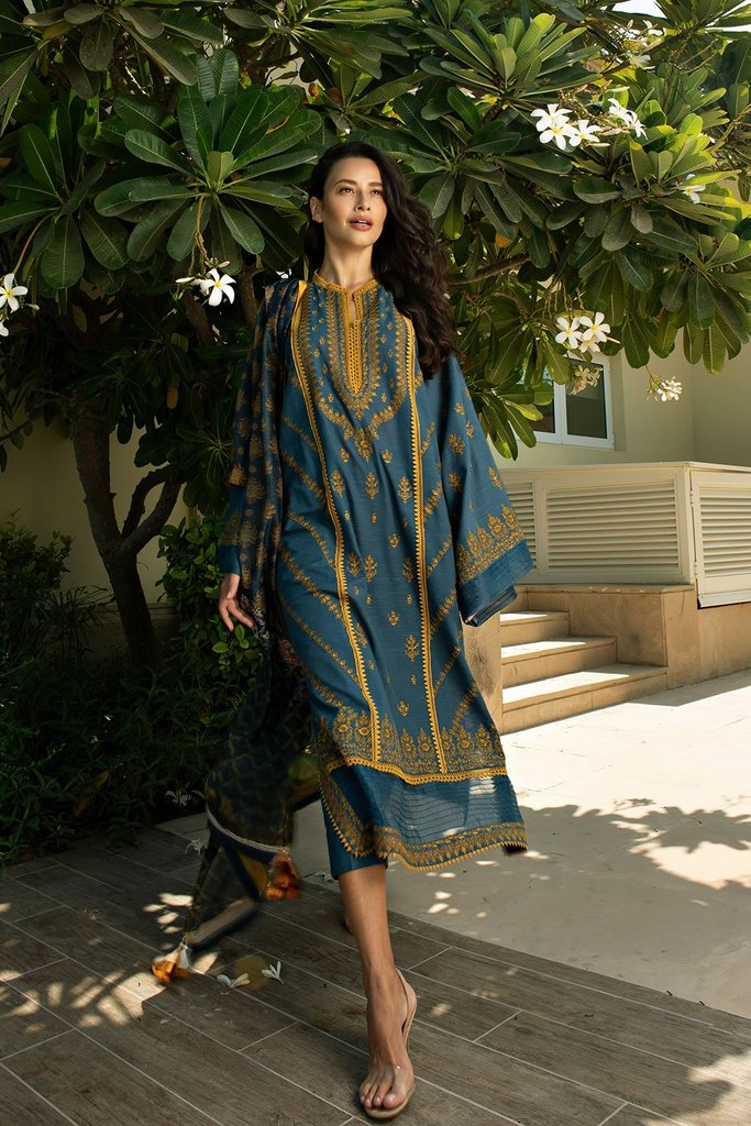 Buy now Sobia Nazir | AUTUMN/WINTER '20 | AW20-3B New Pakistani Designer Clothing 2020 Collection Online UK at Lebaasonline