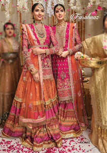 Farahnaz by Anaya X Kamiar Rokni Mehndi Collection Wedding Party 2020 - LebaasOnline