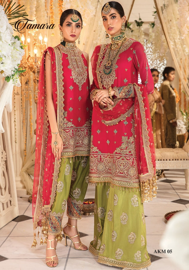 Tamara by Anaya X Kamiar Rokni Mehndi Collection Wedding Party 2020 - LebaasOnline