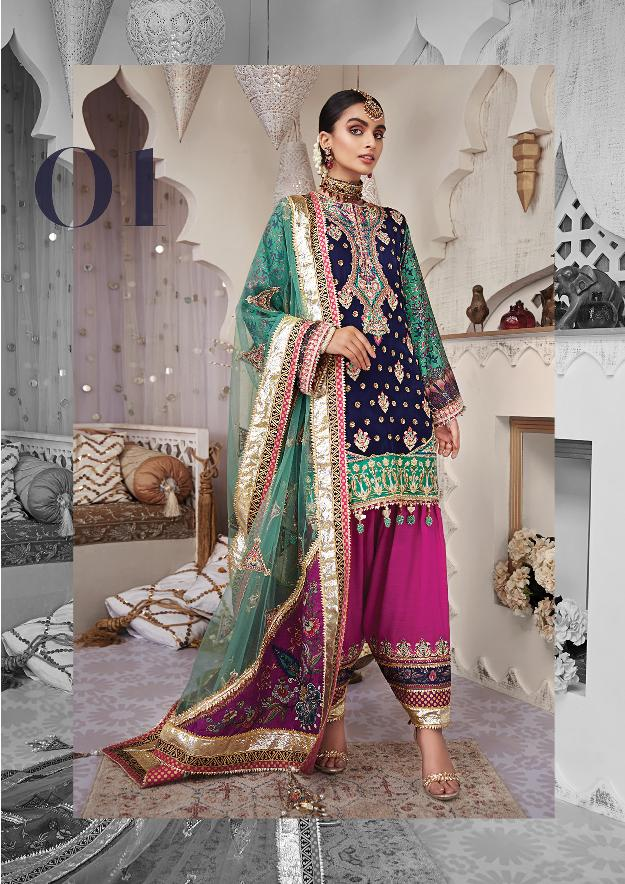 Anaya Kamiar Rokni Wedding Collection 2020 | AK02-01