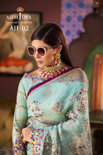 Load image into Gallery viewer,  Shop Asim Jofa Party Wear Suits UK Online at LebaasOnline - Branded Pakistani designer dresses - SALE. Buy Now Asim Jofa Wedding collection 2020 Unique and Custom Made in the UK and USA with discount price !