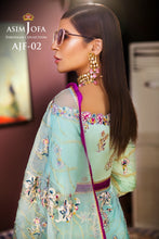 Load image into Gallery viewer, Shop Asim Jofa Party Wear Suits UK Online at LebaasOnline - Branded Pakistani designer dresses - SALE. Buy Now Asim Jofa Wedding collection 2020 Unique and ReadyMade Party Wear Saree and Gowns in the UK and USA with discount price !