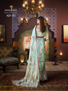 Shop Asim Jofa Party Wear Suits UK Online at LebaasOnline - Branded Pakistani designer dresses - SALE. Buy Now Asim Jofa Wedding collection 2020 Unique and ReadyMade Party Wear Saree and Gowns in the UK and USA with discount price !