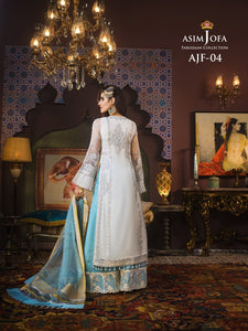 Asim Jofa Sharara Suit -A luxurious embroidered outfit ideal for any wedding, Eid, Diwali Party and celebrations. Shop Asim Jofa Party Wear Suits UK Online at LebaasOnline - Branded Pakistani designer dresses - SALE. Buy Now Asim Jofa Wedding Sharara Suit collection 2020 Unique and Ready Made Party Wear Sharara in the UK and USA with discount price !