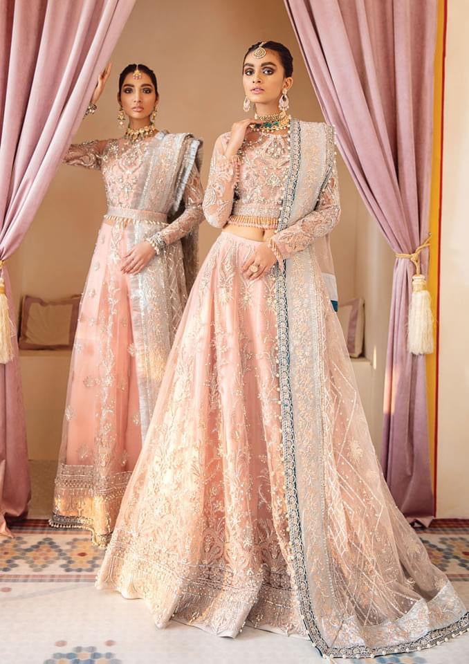 Buy GULAAL | Luxury Formals Wedding Collection 2020 -Mahnoosh WD 01 from Lebaasonline Pakistani Clothes Stockist in the UK at best price- SALE ! Shop Now Pakistani Clothes Online UK for Wedding, Party & Bridal Wear. Indian & Pakistani Dresses Unstitched and Stitched Ready to Wear Embroidered by Gulaal in the UK & USA .