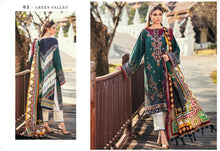 Load image into Gallery viewer, Baroque Premium Lawn Eid Collection 2020 - PL-03 GREEN VALLEY online Pakistani designer dress Anarkali Suits Party Werar Indian Dresses Pakistani Dresses Eid dresses online shoppingReady made Pakistani clothes UK Eid dresses UK online Eid dresses online shopping readymade eid suits uk eid suits 2019 uk pakistani eid suits uk eid suits 2020 uk Eid dresses 2020 UK