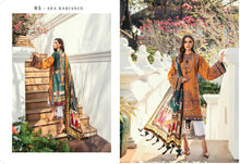 Load image into Gallery viewer, Baroque Premium Lawn Eid Collection 2020 - PL-05 SEA RADIANCE online Pakistani designer dress Anarkali Suits Party Werar Indian Dresses Pakistani Dresses Eid dresses online shoppingReady made Pakistani clothes UK Eid dresses UK online Eid dresses online shopping readymade eid suits uk eid suits 2019 uk pakistani eid suits uk eid suits 2020 uk Eid dresses 2020 UK
