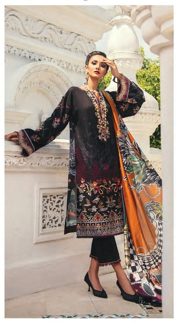 Baroque Premium Lawn Eid Collection 2020 - PL-10 BLACK TREASURE online Pakistani designer dress Anarkali Suits Party Werar Indian Dresses Pakistani Dresses Eid dresses online shoppingReady made Pakistani clothes UK Eid dresses UK online Eid dresses online shopping readymade eid suits uk eid suits 2019 uk pakistani eid suits uk eid suits 2020 uk Eid dresses 2020 UK