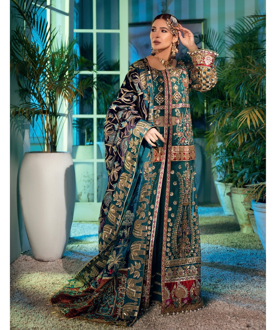 MARYAM HUSSAIN | Wedding Collection 2021 - MRH21W D-01 - NEAL