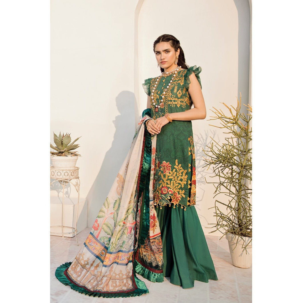 Azalea | Embroidered Lawn Spring Summer 20 | A-01