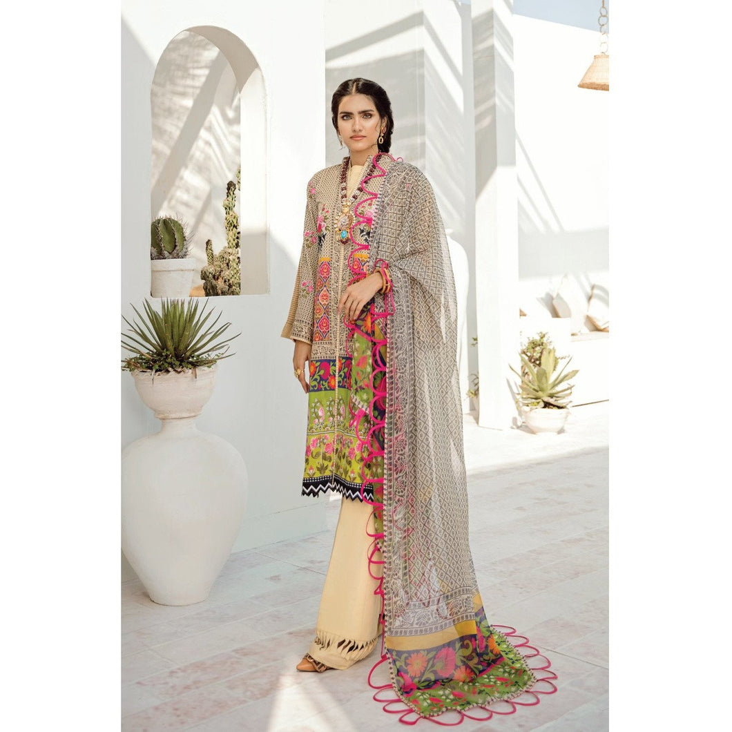Azalea | Embroidered Lawn Spring Summer 20 | A-10