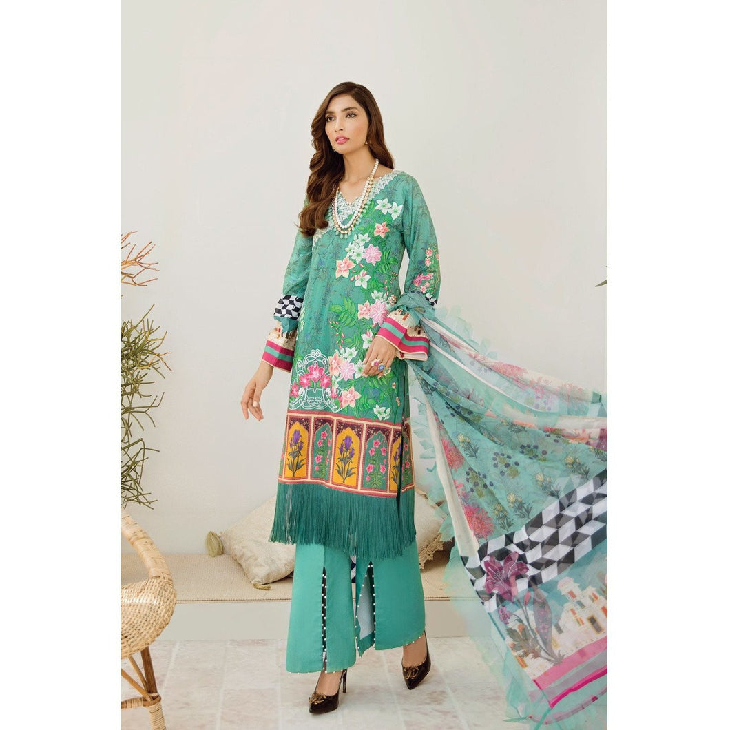 Azalea | Embroidered Lawn Spring Summer 20 | A-11