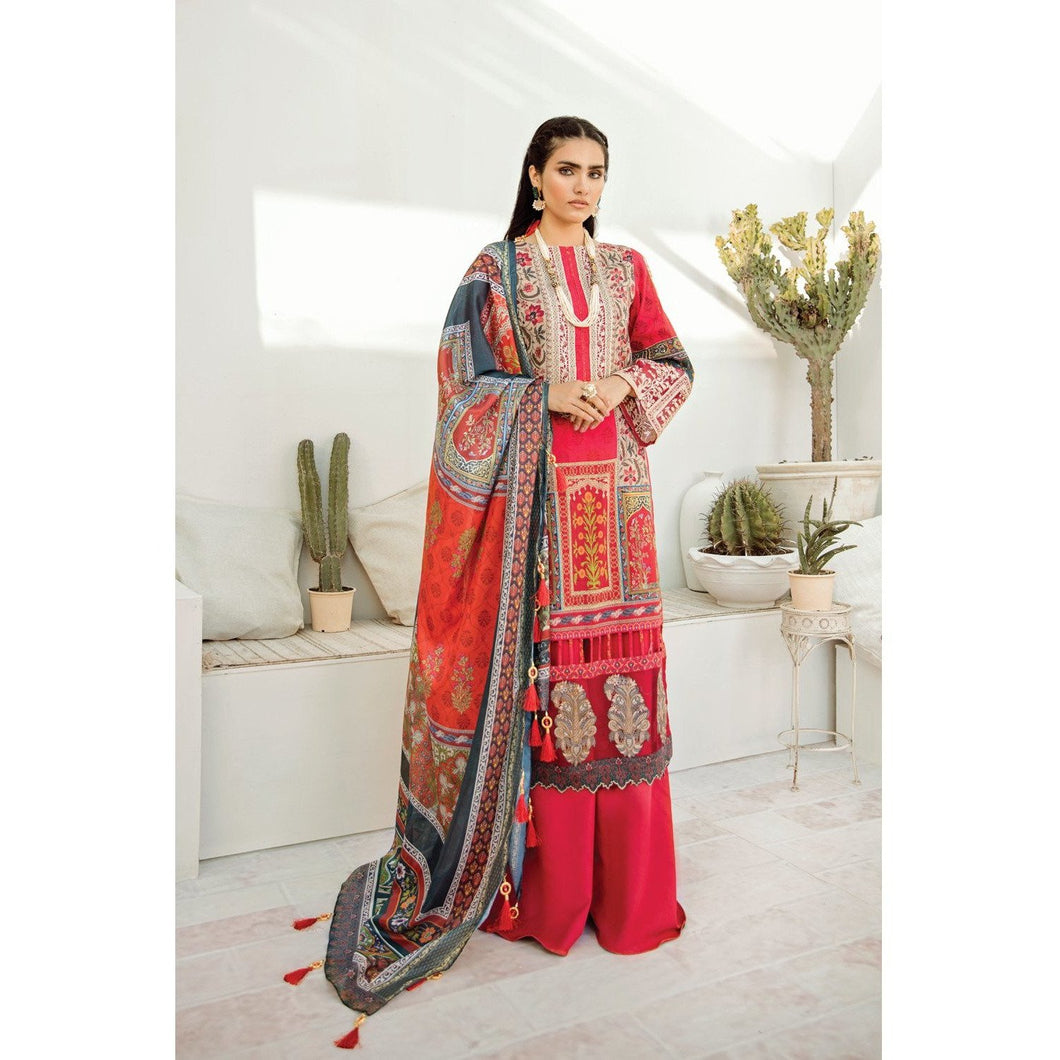 Azalea | Embroidered Lawn Spring Summer 20 | A-03