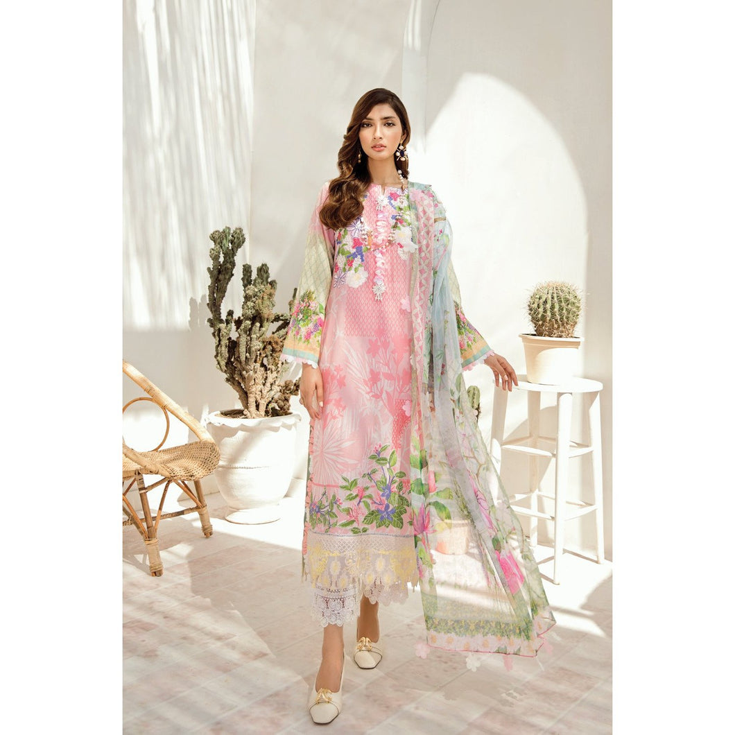 Azalea | Embroidered Lawn Spring Summer 20 | A-05