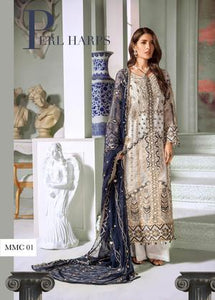 Pakistani suits online UK wedding 2020 Maryum n Maria chiffon collection