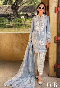 Sana Safinaz 6 B hit design luxury lawn 2020