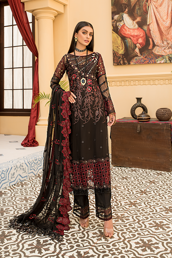 Fustaan By Maryams 2021 | D-6 Reesham PAKISTANI DRESSES & READY MADE PAKISTANI CLOTHES UK. Buy Maryams UK Embroidered Collection of Winter Lawn, Original Pakistani Brand Clothing, Unstitched & Stitched suits for Indian Pakistani women. Next Day Delivery in the UK . Express shipping to USA, France, Germany & Denmark