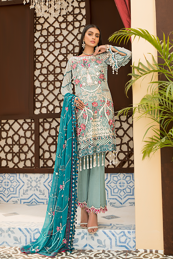 Fustaan By Maryams 2021 | D-3 Aabyaan PAKISTANI DRESSES & READY MADE PAKISTANI CLOTHES UK. Buy Maryams UK Embroidered Collection of Winter Lawn, Original Pakistani Brand Clothing, Unstitched & Stitched suits for Indian Pakistani women. Next Day Delivery in the UK . Express shipping to USA, France, Germany & Denmark