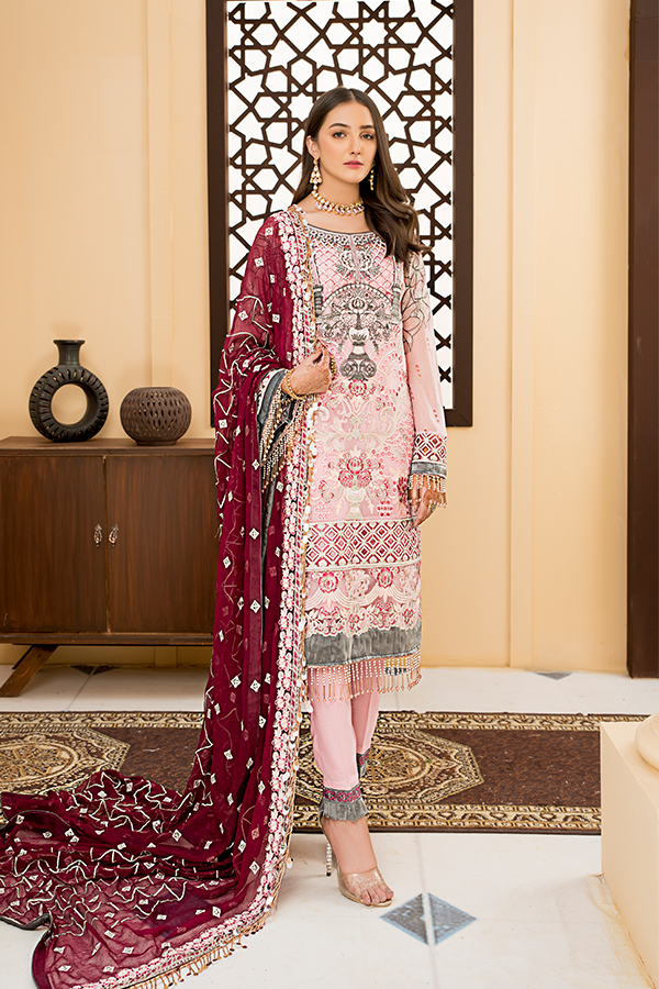 Fustaan By Maryams 2021 | D-9 Mushk PAKISTANI DRESSES & READY MADE PAKISTANI CLOTHES UK. Buy Maryams UK Embroidered Collection of Winter Lawn, Original Pakistani Brand Clothing, Unstitched & Stitched suits for Indian Pakistani women. Next Day Delivery in the UK . Express shipping to USA, France, Germany & Denmark