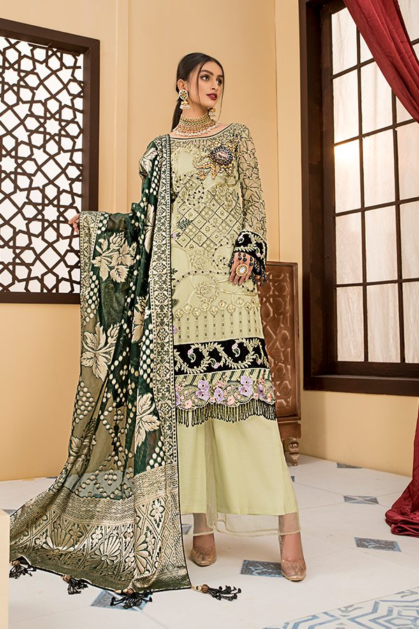 Fustaan By Maryams 2021 | D-10 Kehkashan PAKISTANI DRESSES & READY MADE PAKISTANI CLOTHES UK. Buy Maryams UK Embroidered Collection of Winter Lawn, Original Pakistani Brand Clothing, Unstitched & Stitched suits for Indian Pakistani women. Next Day Delivery in the UK . Express shipping to USA, France, Germany & Denmark
