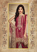 Load image into Gallery viewer, Anaya Luxury Lawn 2020 Suit Ruby Red