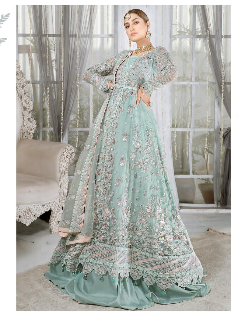 Shop EMAAN ADEEL - MAHERMAH 2021 | EA21M 06 Rang-e-Aab at www.LebaasOnline.co.uk. Khaddi Net Embroidered hand mirror work, New Indian & Pakistani Designer Partywear Suits in the UK and USA at LebaasOnline. Browse new EMAAN ADEEL - MAHERMAH 2021 | EA21M 06 Rang-e-Aab Wedding Part & Nikah dresses SALE at LebaasOnline.
