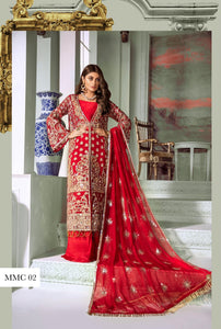 Pakistani wedding suits Maryum n Maria 2020