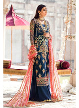 Load image into Gallery viewer, Gulaal Wedding Collection Blue - LebaasOnline