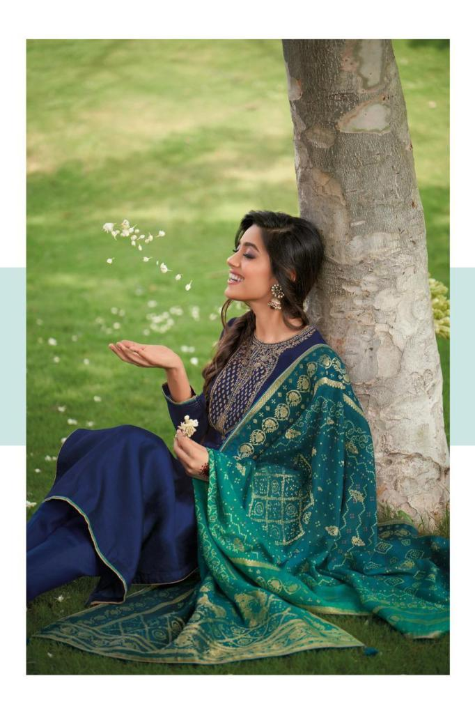 Bandhani Vol 3 Fancy Silk Designer Suit Collection 2020 - BH 34