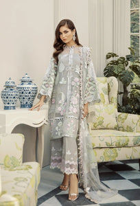 Ivory Bliss Pakistani Suit by Rouche Luxe - LebaasOnline