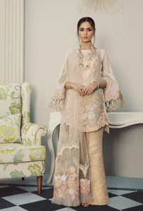 Marigold Bloom Pakistani Suit by Rouche Luxe - LebaasOnline