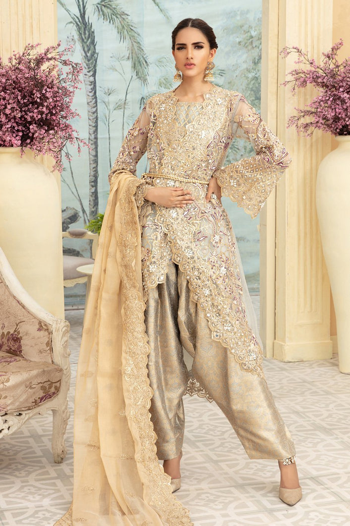Maryum N Maria | Chiffon Collection 2020 | BLATIS GRIJ-MMD-04