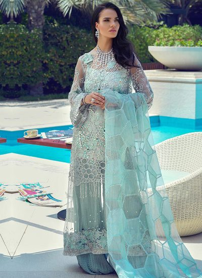 Mushq Designer Suit HONEY DEW - LebaasOnline