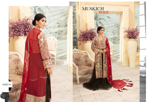Maryum N Maria | Chiffon Collection 2020 | MUSKICH DAAN-MMD-03