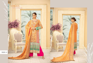 Maryum N Maria | Chiffon Collection 2020 | CHERIS MUDLLE-MMD-10