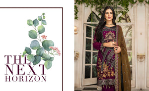 Maryam's Chiffon Eid and Wedding Collection 2020 - MP 166