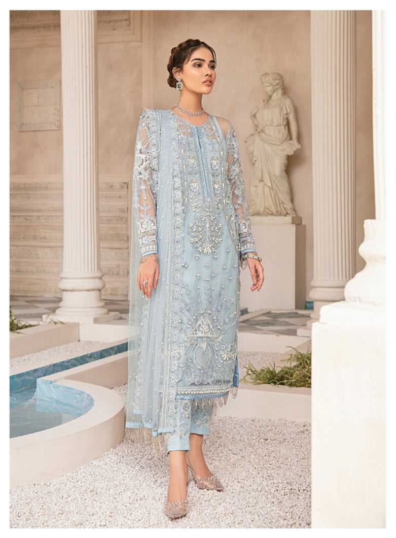 Mirabella Luxury Chiffon/Formals Eid Collection by Gulaal 2020 - MG 01 Wisteria online Pakistani designer dress Anarkali Suits Party Werar Indian Dresses Pakistani Dresses Eid dresses online shoppingReady made Pakistani clothes UK Eid dresses UK online Eid dresses online shopping readymade eid suits uk eid suits 2019 uk pakistani eid suits uk eid suits 2020 uk Eid dresses 2020 UK
