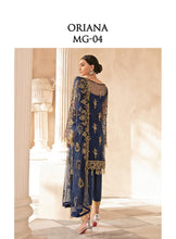 Load image into Gallery viewer, Mirabella Luxury Chiffon/Formals Eid Collection by Gulaal 2020 - MG 04 Oriana online Pakistani designer dress Anarkali Suits Party Werar Indian Dresses Pakistani Dresses Eid dresses online shoppingReady made Pakistani clothes UK Eid dresses UK online Eid dresses online shopping readymade eid suits uk eid suits 2019 uk pakistani eid suits uk eid suits 2020 uk Eid dresses 2020 UK