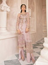 Load image into Gallery viewer, Mirabella Luxury Chiffon/Formals Eid Collection by Gulaal 2020 - MG 06 Garnet online Pakistani designer dress Anarkali Suits Party Werar Indian Dresses Pakistani Dresses Eid dresses online shoppingReady made Pakistani clothes UK Eid dresses UK online Eid dresses online shopping readymade eid suits uk eid suits 2019 uk pakistani eid suits uk eid suits 2020 uk Eid dresses 2020 UK