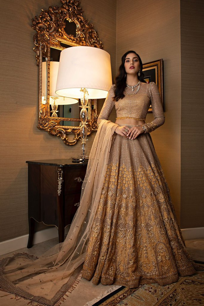 SOBIA NAZIR NUR NR-20/21-DN-03 festive collection 20/21 Sobia Nazir Nur Festive Collection 2020 is Pakistan's most diverse designer fashion brand with prêt porter, couture, lawn, embroidered net with net blouse fabrics. Buy Celebrating different styles of Pakistani Festive Collection 2020 in UK and USA at LebaasOnline.