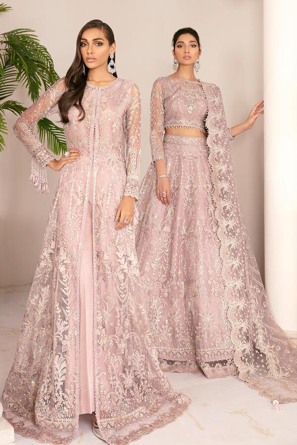 Buy Baroque Chantelle '21 Pink from Lebaasonline Pakistani Clothes Stockist in UK @ best price- SALE ! Shop Baroque Chantelle '21, Noor LAWN 2021, Maria B Lawn 2021 Summer Suits, Pakistani Clothes Online UK for Wedding, Party & Bridal Wear. Indian & Pakistani Summer Dresses by BAROQUE in the UK & USA at LebaasOnline.