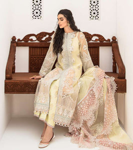 Luxury Formals Suits | Qalamkar 20 - W-07