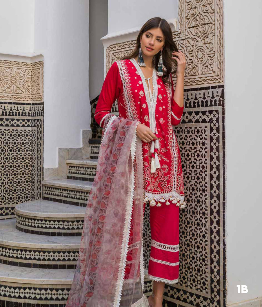 Sobia Nazir's Luxury Lawn Collection 2020 - 1B  online Pakistani designer dress Anarkali Suits Party Werar Indian Dresses Pakistani Dresses