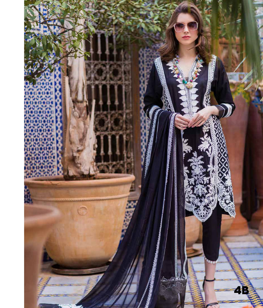 Sobia Nazir's Luxury Lawn Collection 2020 - 4B online Pakistani designer dress Anarkali Suits Party Werar Indian Dresses Pakistani Dresses