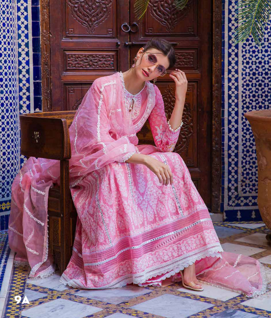 Sobia Nazir's Luxury Lawn Collection 2020 - 9A online Pakistani designer dress Anarkali Suits Party Werar Indian Dresses Pakistani Dresses
