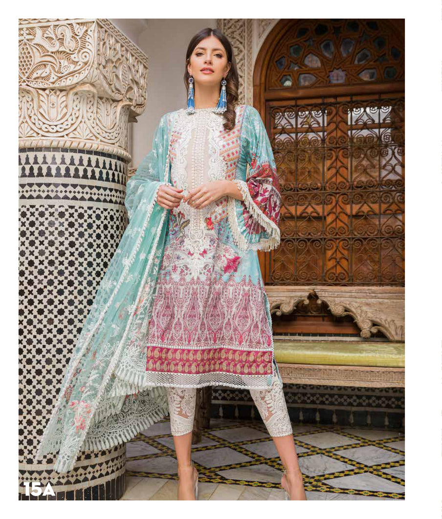 Sobia Nazir's Luxury Lawn Collection 2020 - 15A online Pakistani designer dress Anarkali Suits Party Werar Indian Dresses Pakistani Dresses