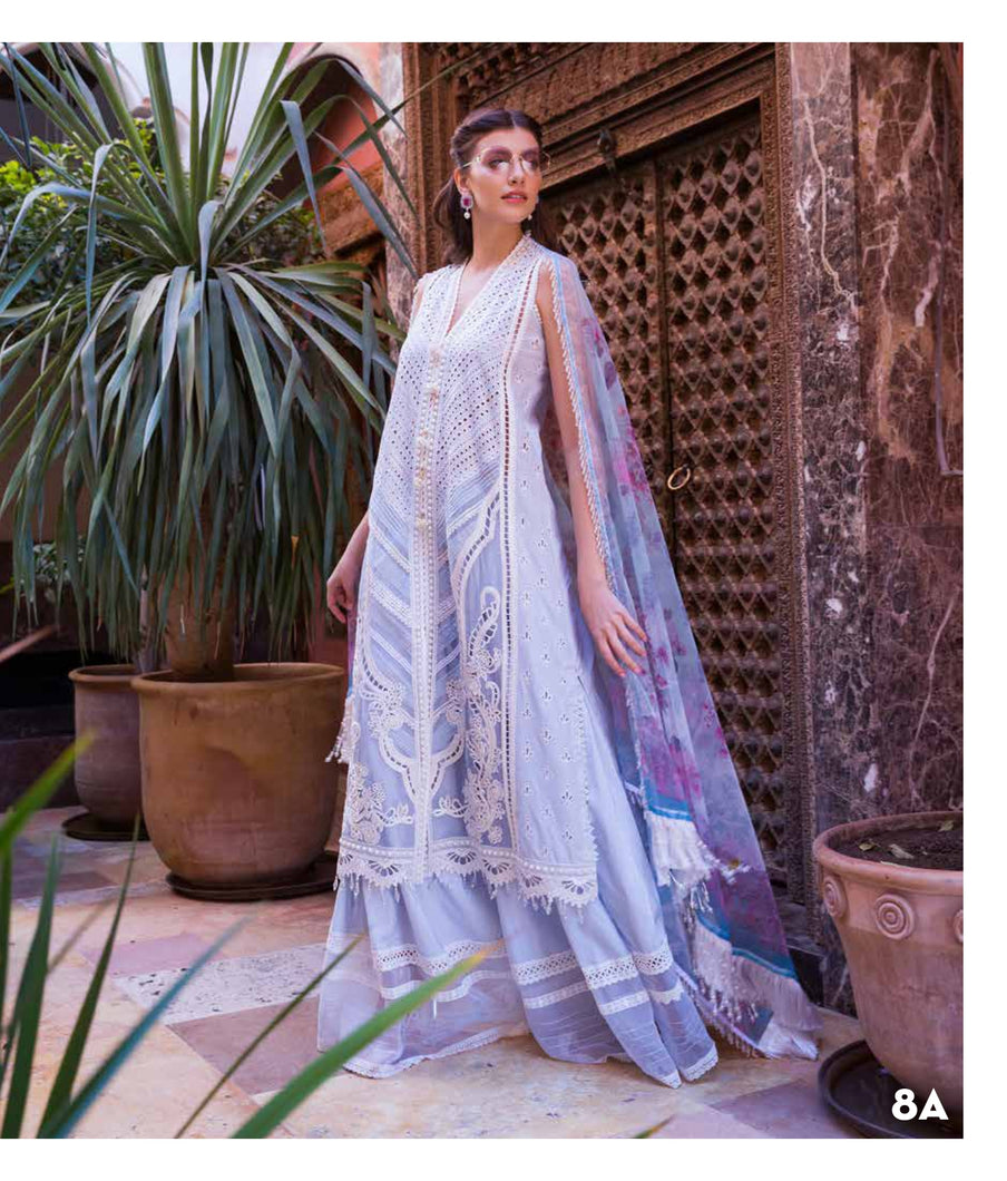 Sobia Nazir's Luxury Lawn Collection 2020 - 8A online Pakistani designer dress Anarkali Suits Party Werar Indian Dresses Pakistani Dresses