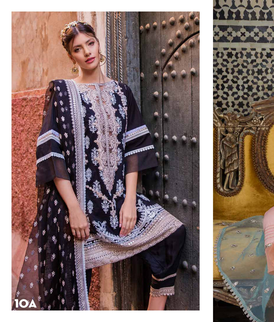 Sobia Nazir's Luxury Lawn Collection 2020 - 10A