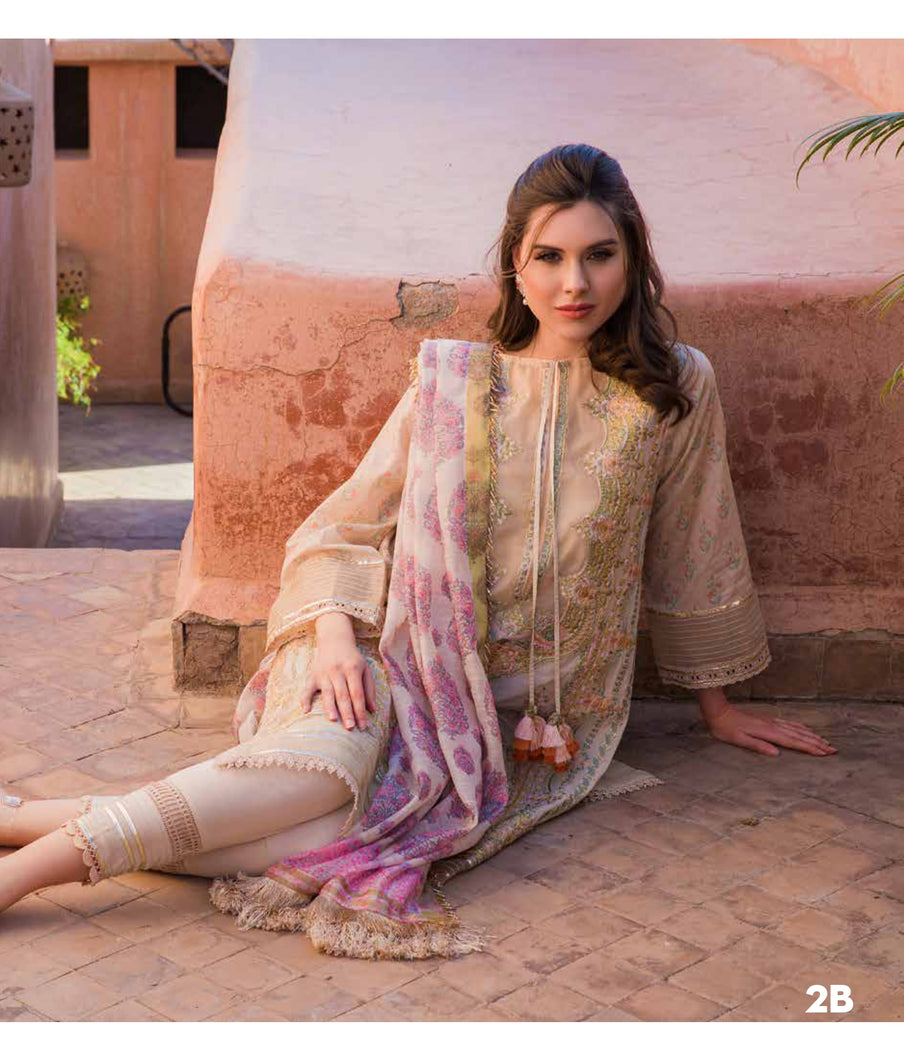 Sobia Nazir's Luxury Lawn Collection 2020 - 2B online Pakistani designer dress Anarkali Suits Party Werar Indian Dresses Pakistani Dresses